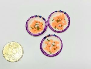 Suppenteller für Elfenwelt, Puppenstube Puppenhaus Fairy Garden Miniaturwelten Kaufmannsladen Pilze - Handarbeit kaufen