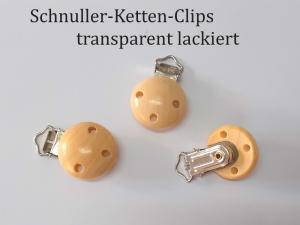 Schnuller-Kette selber basteln, Holzfarben, Schnuller-Clip aus lackiertem Holz, Baby, Nuckel, Schnuller,    - Handarbeit kaufen