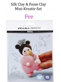 Mini-Kreativ-Set, Foam-Clay & Silk-Clay - Fee- Lufttrocknende Knete, Komplett-Set mit allem Zubehör, Kinderbasteln  - Handarbeit kaufen