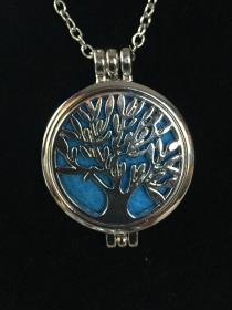 Duft-Medaillon - Baum des Lebens - Design 1 - Handarbeit kaufen