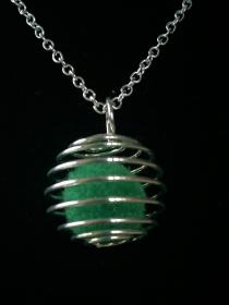 Duft-Medaillon - Duftkugel - Spirale - Design 7 - Handarbeit kaufen
