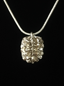 Silberanhänger handgefertigt - Casuarina - Unikat - Handarbeit kaufen