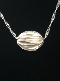 Silberanhänger handgefertigt - filigrane Perle - Unikat - Handarbeit kaufen