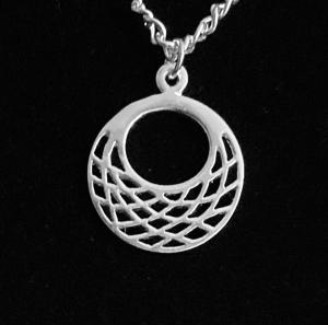 Silberanhänger handgefertigt mit durchbrochenem Design - Unikat - Handarbeit kaufen