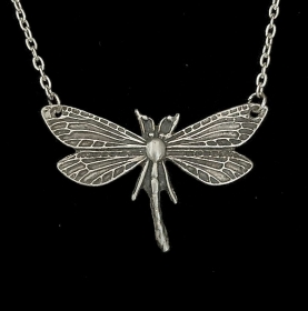 Silberanhänger handgefertigt - große Libelle - Unikat - Handarbeit kaufen