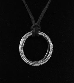 Männerschmuck - Silberanhänger handgefertigt - Ringe