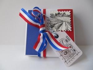 Geschenk Box für eine Frankreich Reise