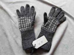 Handgestrickte Fingerhandschuhe für Damen