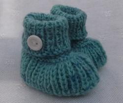 Babyschuhe, kuschelig warm, 0 - 3 Monate