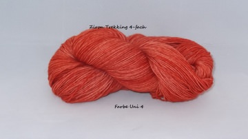 handgefärbte Sockenwolle, Zitron Trekking Sockenwolle, jeder Strang ein Unikat