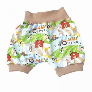kurze Pumphose, Shorts in vielen verschiedenen Stoffen, Größen 50 - 164