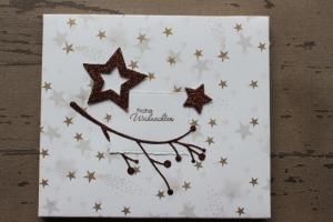 Geschenkverpackung für Weihnachtsgeschenk - perfekt für eine CD