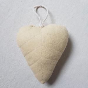 Handgefertigter Girlanden-Anhänger ´Blatt` Vanille, aus hochwertigen und natürlichen Materialien  - Handarbeit kaufen