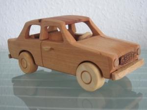 Oldtimer Limousine DDR Holz Auto Modellauto PKW Holzauto
