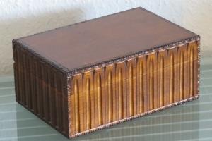 Nähkästchen Nähkasten Nähkorb Nähkiste Handbemalt Landhaus Holz Handarbeit groß  XXL (Kopie id: 100201087) - Handarbeit kaufen