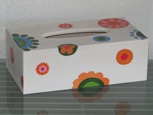Kosmetikbox Kosmetiktücherbox Spender Tuchbox Holz Tücherbox Taschentuchbox  - Handarbeit kaufen
