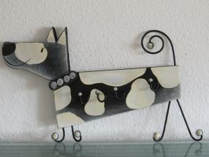 Garderobe Hund Kleiderhaken Kindergarderobe 3D Garderobenhaken Holz Kinder 8 Haken sehr groß