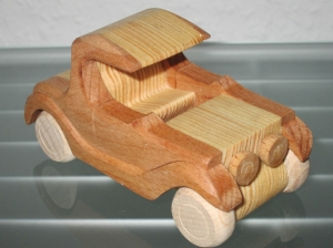 Oldtimer T TRUCK UNIKAT LKW Holzauto Modellauto Auto Holz HANDARBEIT NEU  - Handarbeit kaufen