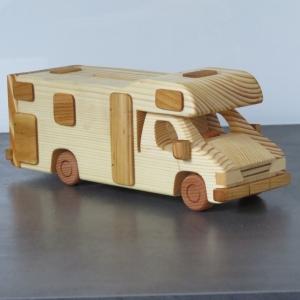 Wohnmobil Reisemobil Alkoven Camper Spardose Camping Wohnwagen Modellauto WOMO - Handarbeit kaufen