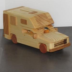 Wohnmobil Reisemobil Pickup Camper Spardose Camping Wohnwagen Modellauto WOMO