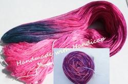 handgefärbte Merino Schurwolle