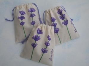Lavendelsäckchen, gefüllt