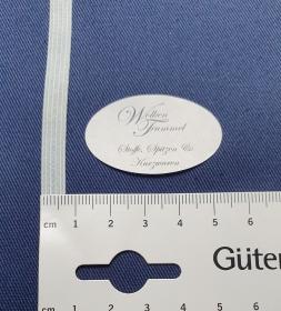 Gummiband 7 mm in zartem hellblau, 1 Bund mit 6 Meter - Handarbeit kaufen