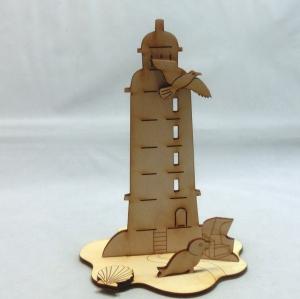 Leuchtturm Ostsee als Geburtstagsgeschenk zum Basteln und bemalen - Handarbeit kaufen