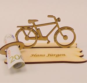 Geldgeschenk zum Geburtstag ,★ E-Fahrrad oder Fahrrad, ★ Personalisiert  - Handarbeit kaufen