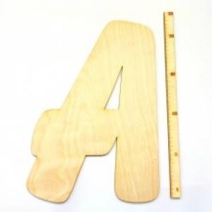 Buchstabe aus Naturholz ★23 cm ★   zum basteln und kreativen gestalten  - Handarbeit kaufen