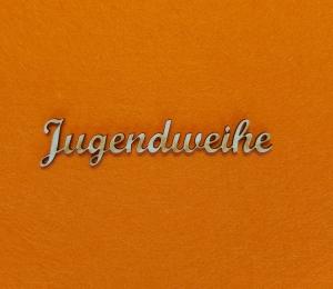 Schriftzug ★ Jugendweihe ★ Schriftzug für Karten basteln, Schriftzug für Geschenke, Wanddekoration - Handarbeit kaufen