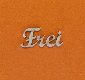 Schriftzug ★ Frei ★ Schriftzug für Türen, Toiletten, Ferienhäuser, Zuhause - Handarbeit kaufen