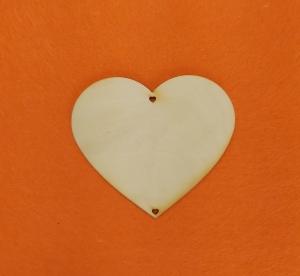 ♥ Herzen ♥ 5 Stck EHS Herz 11 cm aus Vollholz, zum bemalen, Hochzeitsdekoration, Tischdeko   - Handarbeit kaufen
