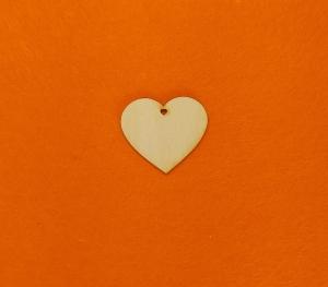 ♥ 7 Stck Herzen ♥ EHL Herz 6 cm aus Vollholz, zum bemalen, Hochzeitsdekoration, Tischdeko , Tischkarten, Verlobung - Handarbeit kaufen
