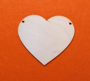 ♥ Herzen ♥ 5 Stck EHW Herz 11 cm aus Vollholz, zum bemalen, Hochzeitsdekoration, Tischdeko   - Handarbeit kaufen
