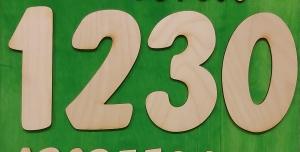 Zahl aus Naturholz  ★ 8 cm ★ von 0 bis 9  ★ zum basteln und kreativen gestalten  - Handarbeit kaufen