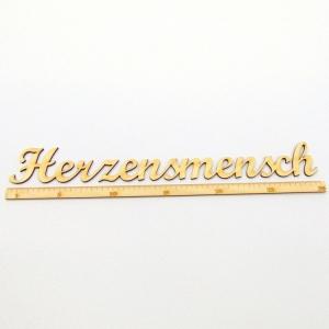 Schriftzug ★ Herzensmensch 30 cm ★ Schriftzug für Geschenke, Wohnaccessoires, Wanddekoration - Handarbeit kaufen