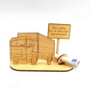 ♥ Geldgeschenk ♥ Lastwagen