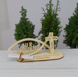 ♥Zur Firmung ♥ Personalisiertes Geld- und Gutscheingeschenk aus Holz ♥ Geschenk für Paten - Handarbeit kaufen