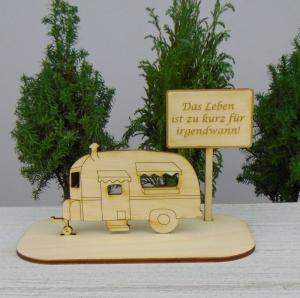 Geldgeschenk Gutschein Geburtstag ★Wohnwagen Das leben ist zu kurz für irgendwann ★ Muttertag Herrentag Hochzeitstag  - Handarbeit kaufen