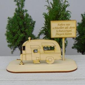 Geld - Gutscheingeschenk ★Wohnwagen Fahre nie schneller als dein Schutzengel ★ Geschenk Urlaubsreise Geburtstag Jubiläum Glückwünsche - Handarbeit kaufen