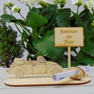 Geld - Gutscheingeschenk ★ Caprio Rentner on tour ★ Geschenk für Opa oder Rentner Urlaubsreise Weihnachten oder Hochzeitstag - Handarbeit kaufen