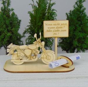 Geld - Gutscheingeschenk ★ Moped Wenn nicht jetzt wann dann Alles Liebe zum 70.★ oder Wunschzahl zum Geburtstag Geschenk Männer - Handarbeit kaufen