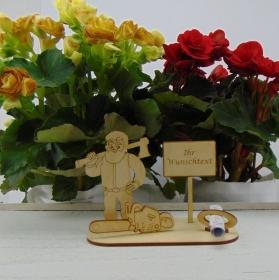 Geldgeschenkset ♥  Holzfäller ♥ Wunschtext ♥ für Männer ♥ mit Personalisierung - Handarbeit kaufen