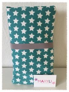 Wickeltasche mit Sternen