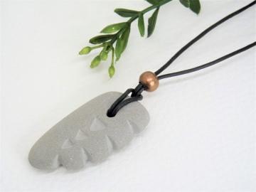 Halskette Beton *EFFECT* - Unisex - handgefertigt -