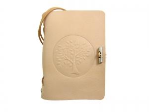 Lederbuch Tagebuch Notizbuch - soft OX Life Tree Nature - A6 - 400 Seiten - Vickys World - Kostenloser Versand - Handarbeit kaufen