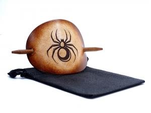 Haarspange Leder - OX Antique Spider - Vickys World - Kostenloser Versand - Handarbeit kaufen