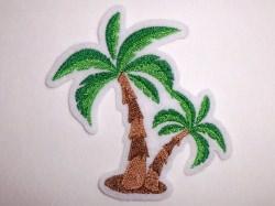 Aufnäher kleine Palme Applikation