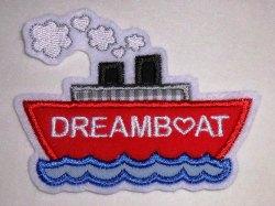 Aufnäher Schiff Boot Traumschiff Applikation